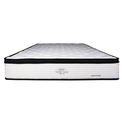 Elite Plush Pocketed King Size Mattress - Home And Style