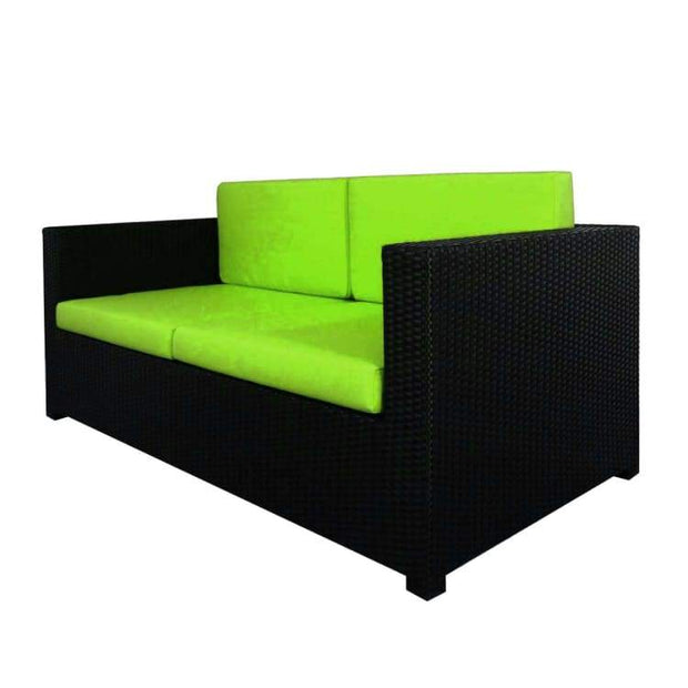 Fiesta Sofa Set II, Green Cushions by Arena Living - Home And Style