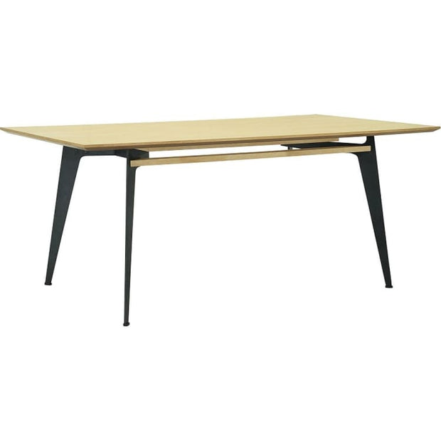 Grover Dining Table Oak Top 2m - Home And Style