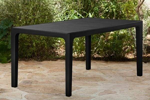 Harmony 1.6m Table Grey by Keter - Home And Style