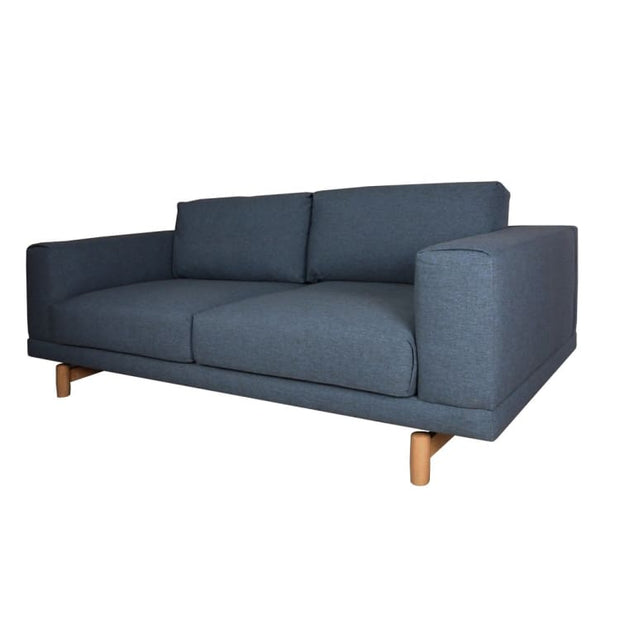 Hattan 3 Seater Sofa – Bluish Grey - Home And Style