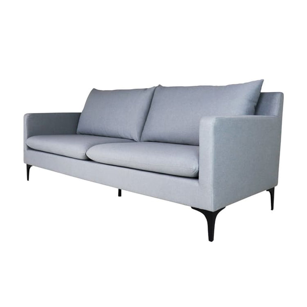 Hayley 3 Seater Sofa, Light Grey - Home And Style