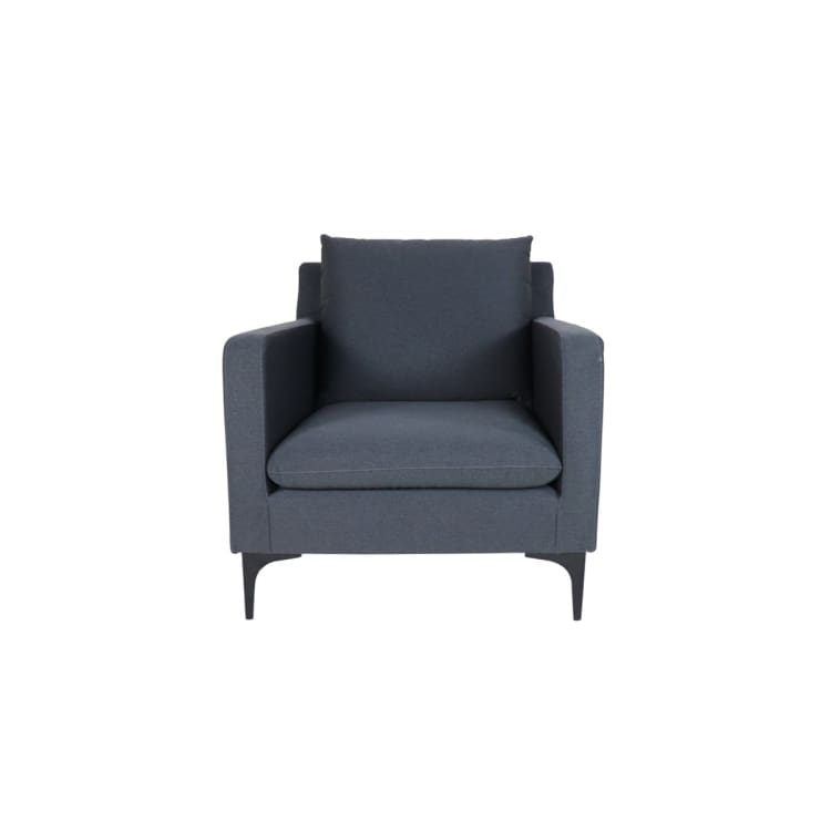 Hayley Armchair, Dark Grey