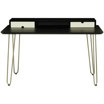 Ingram Working Desk, Black - Home And Style