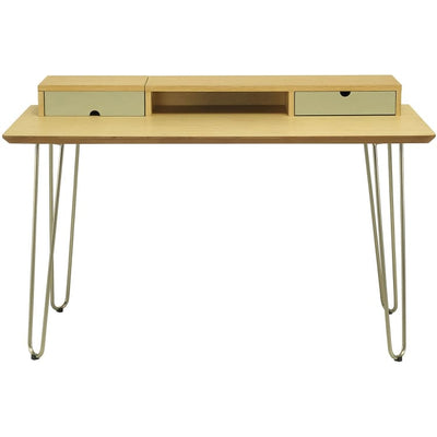 Ingram Working Desk, Oak - Home And Style