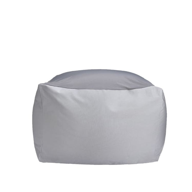 Kawaii Canvas Blend Bean Bag, Grey - Home And Style