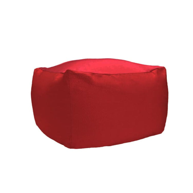 Kawaii Canvas Blend Bean Bag, Red - Home And Style