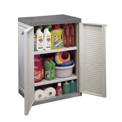 Keter Lourve Wall and Base Cabinet - Home And Style