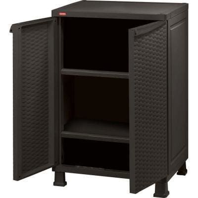Keter Rattan Cabinet Wall and Base with Legs - Home And Style
