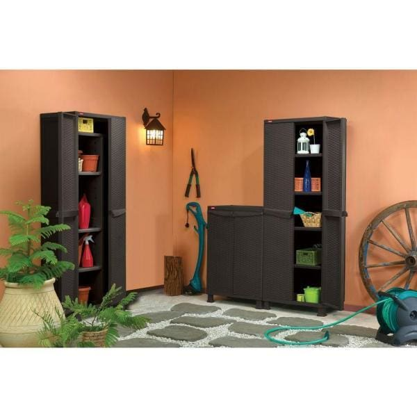 Keter Rattan Multipurpose Cabinet with Legs - Home And Style