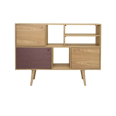 Locke Penny Brown Tall Sideboard - Home And Style