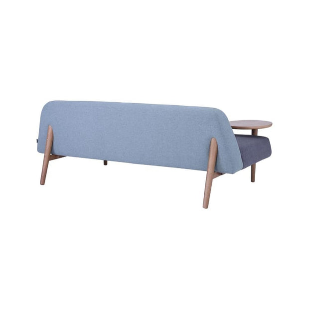 Lusso Daybed with Oak Leg, Sea Green - Home And Style