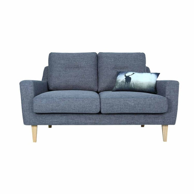 Malibu 2 Seater Sofa with Oak Leg, Seal - Home And Style