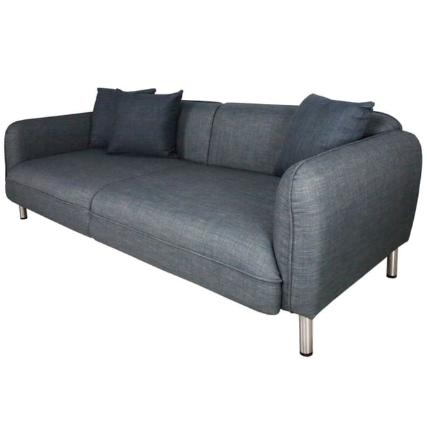 Marcel 3 Seater Sofa, Grey - Home And Style