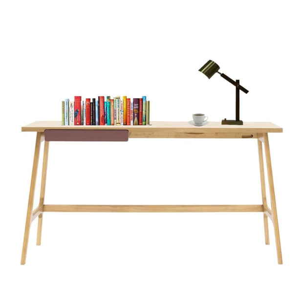 Marcelle Study Table – Natural Colour - Home And Style