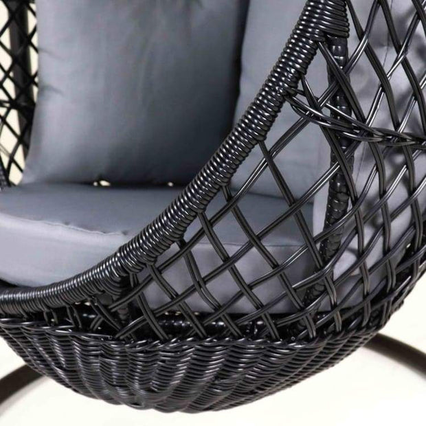 Mulia Cocoon Swing Chair, Grey Cushion by Arena Living - Home And Style