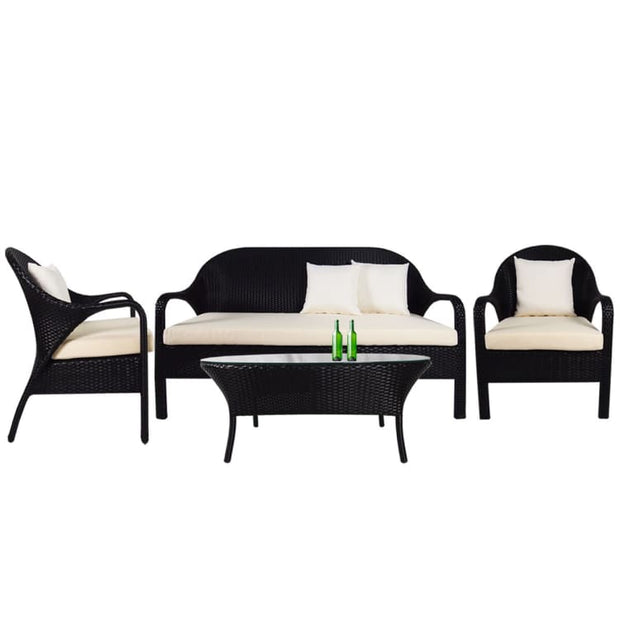 Oasis Sofa Set, Cream Cushion by Arena Living - Home And Style