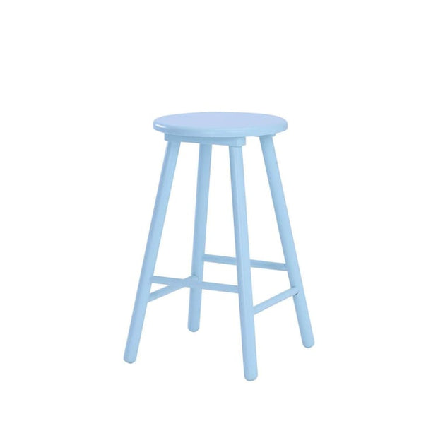 Olina Bar Stool, Light Blue - Home And Style