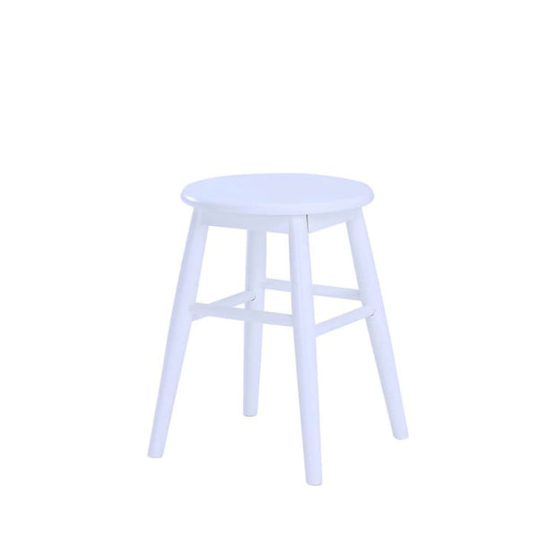Olina Stool, White - Home And Style