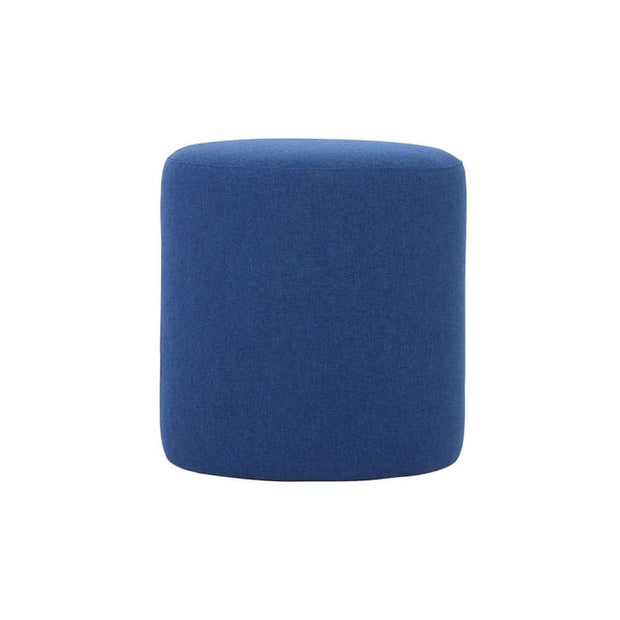 Omni ø46cm Pouf in Midnight Blue - Home And Style