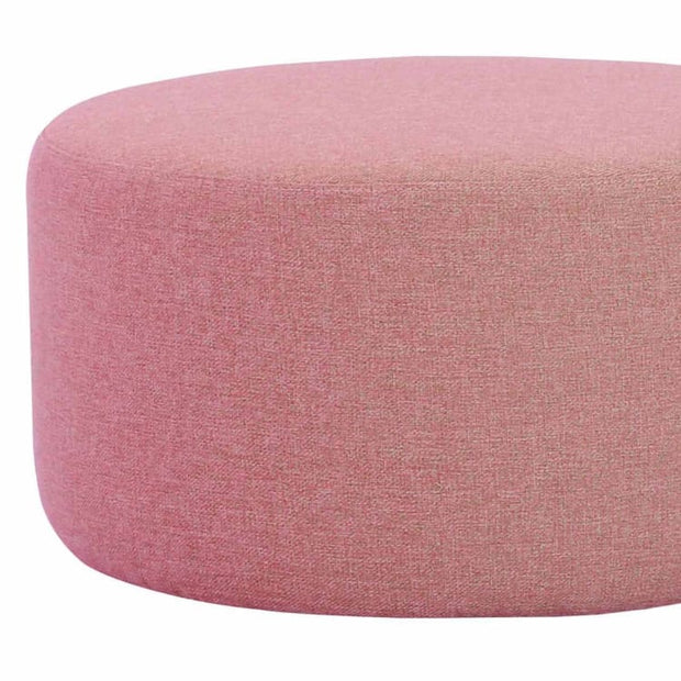Omni ø62cm Pouf in Rose - Home And Style