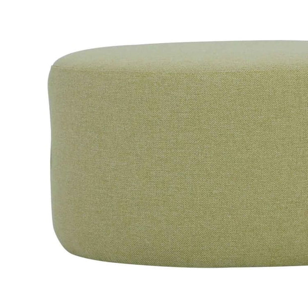 Omni ø62cm Pouf in Tea Green - Home And Style