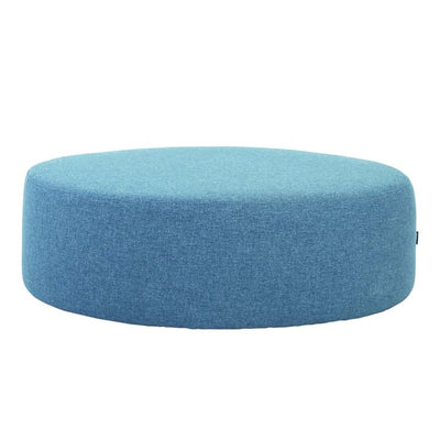 Omni ø96cm Pouf in Marble Blue - Home And Style