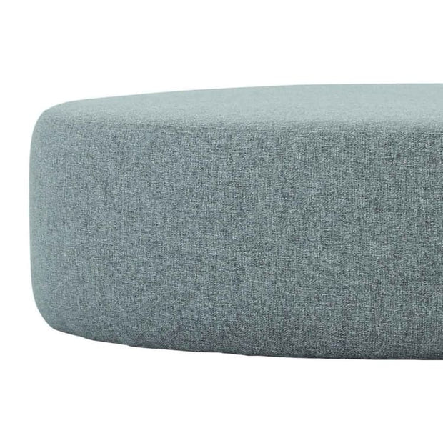Omni ø96cm Pouf in Pale Silver - Home And Style