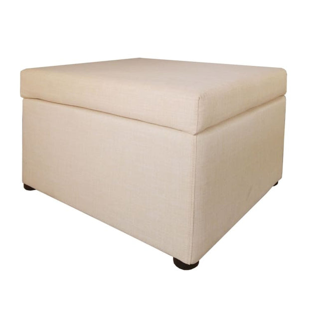 Ottoman Coffee Table, Beige - Home And Style