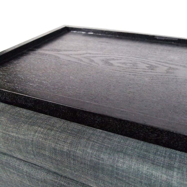 Ottoman Coffee Table, Grey - Home And Style