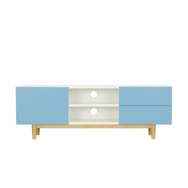 Potter TV Cabinet, Blue - Home And Style