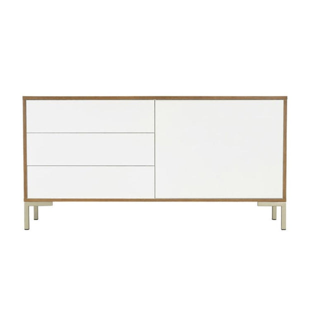 Randy White Lacquered Sideboard - Home And Style