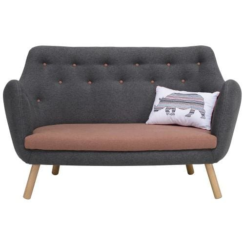 Regal Sofa, Battleship Grey - Home And Style