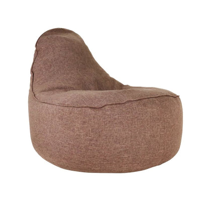 Ringo Bean Bag Sofa in Coffee Brown - Home And Style