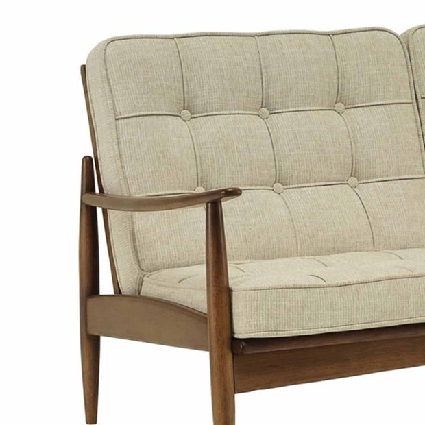 Ripon 2 Seater Sofa Cushion in Almond Colour - Home And Style