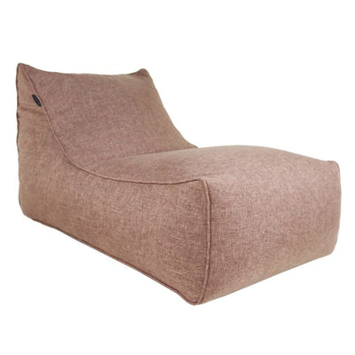 Ritchie Bean Bag Sofa in Coffee Brown - Home And Style