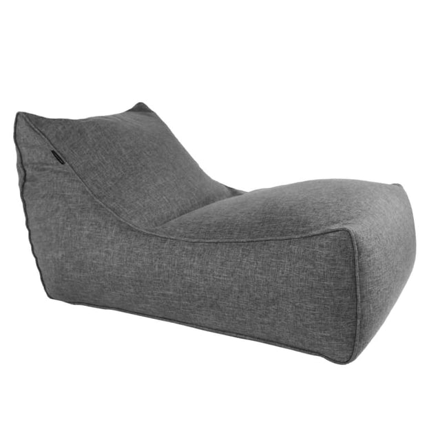 Ritchie Bean Bag Sofa in Grey - Home And Style