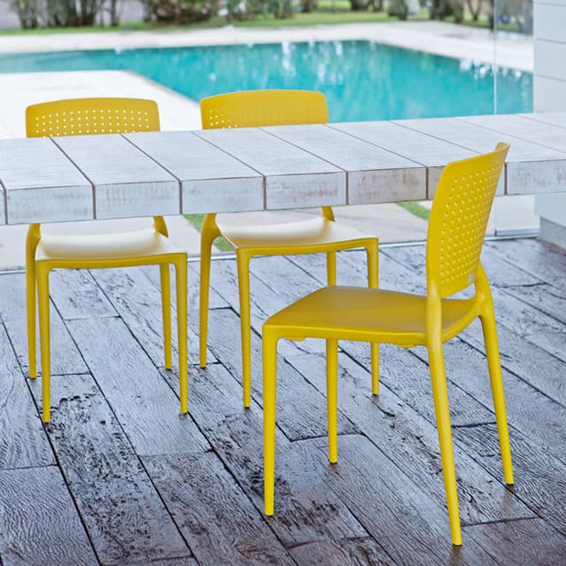 Safina Chair Yellow by Tramontina - Home And Style