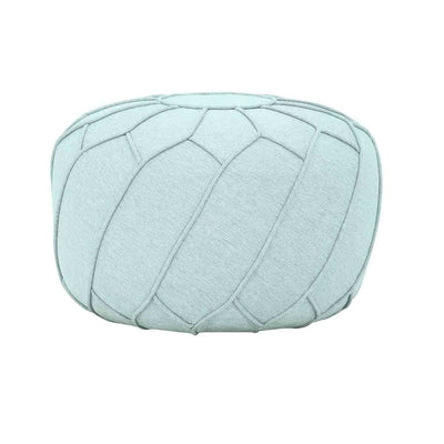 Saturn Pouf in Aquamarine - Home And Style