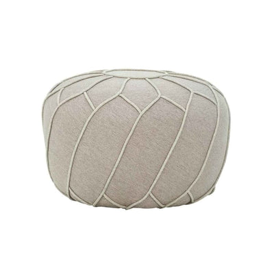 Saturn Pouf in Oak Brown - Home And Style