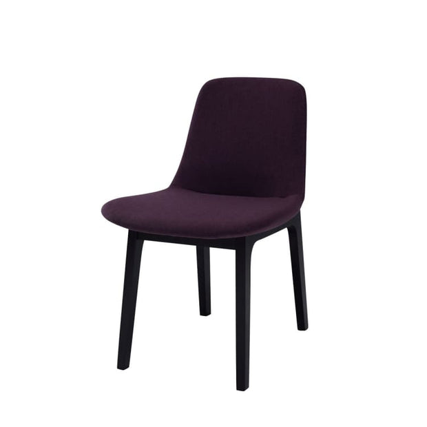 Set of 2 Aurora Fabric Dining Chair Violet Colour - Home And Style