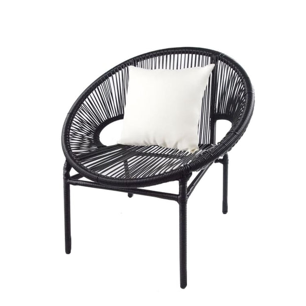 Shelton Patio Set, White Pillow by Arena Living - Home And Style