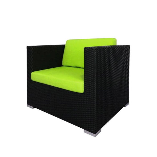 Summer Modular Sofa Set II, Green Cushions by Arena Living - Home And Style