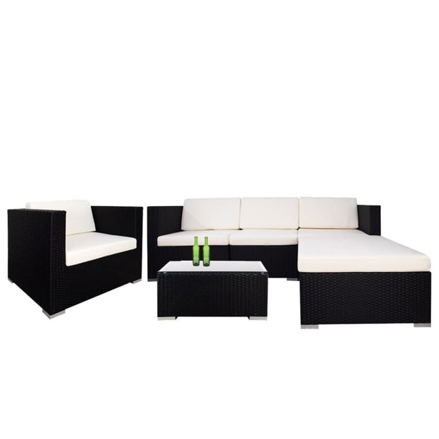 Summer Modular Sofa Set II, White Cushions by Arena Living - Home And Style
