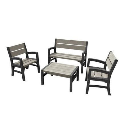 WLF Garden Bench Set by Keter - Home And Style