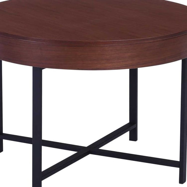 Wolcott Storage Coffee Table In Walnut Home And Style