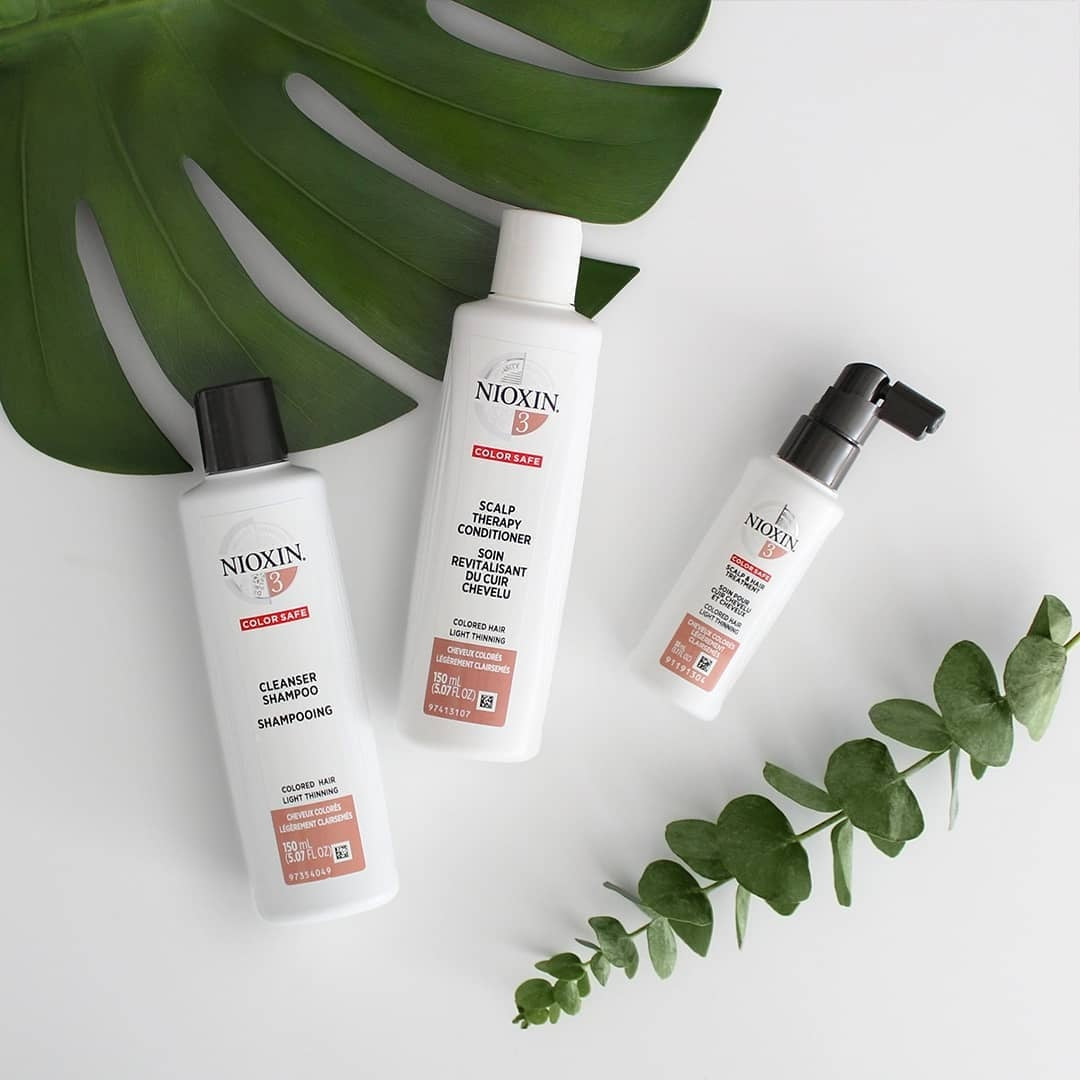 Nioxin System 3 Hair Kit Coloured Hair With Light Thinning