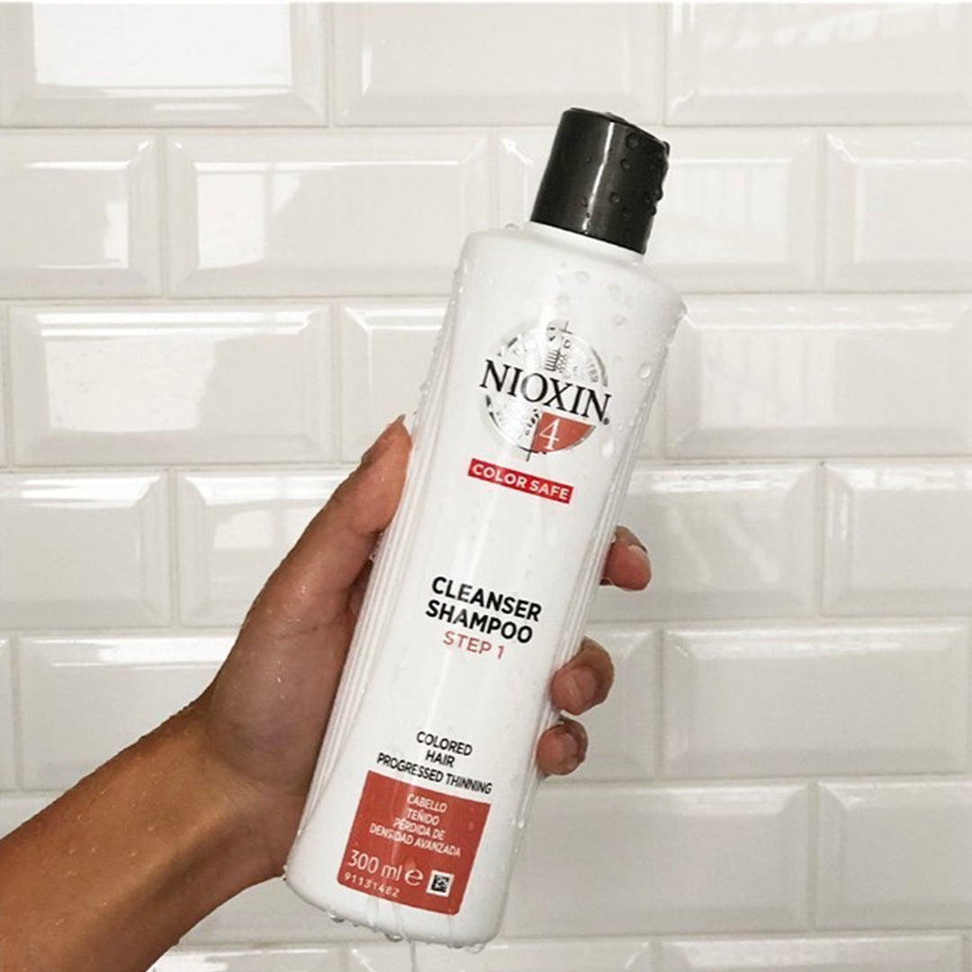 Nioxin System 4 Cleanser Shampoo Colored Hair Progressed Thinning