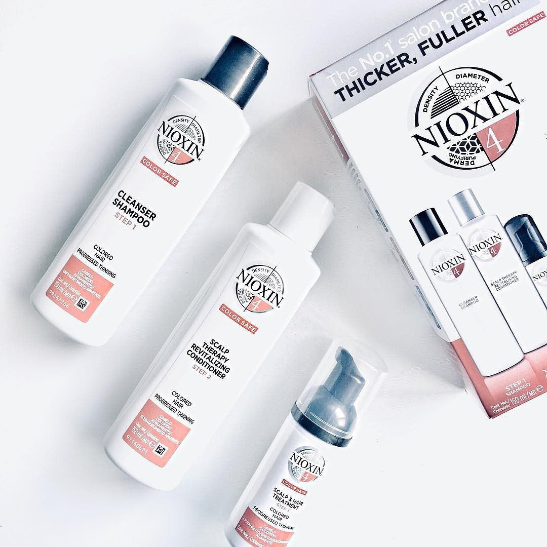 Nioxin System 4 Hair Kit Coloured Hair With Progressed Thinning