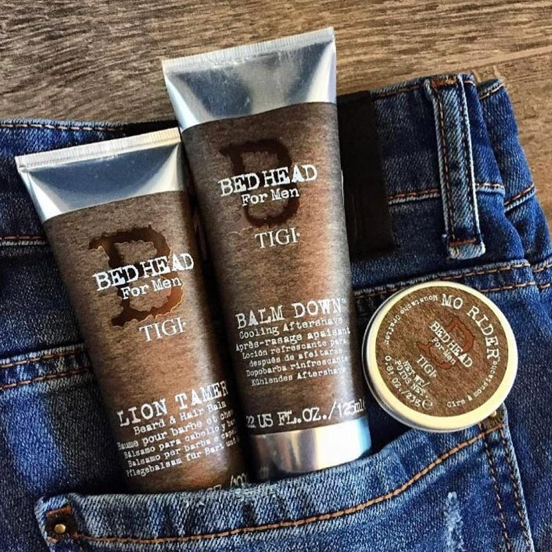 Tigi Bed Head Lion Tamer and Balm Down Aftershave Gift Set